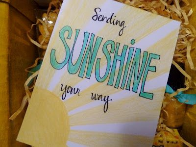 Sometimes Creative: A Box Full of Sunshine