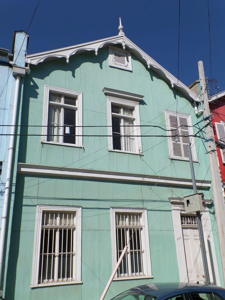Fachada Valparaíso Cerro Alegre