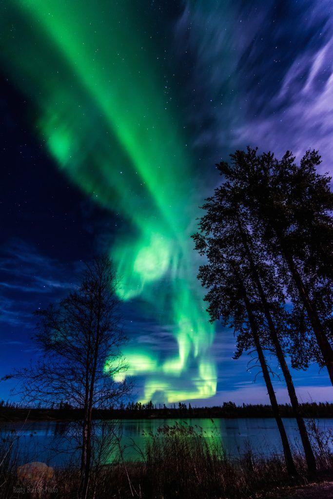 Auroras boreales desde Alberta, Canadá – El Universo Hoy