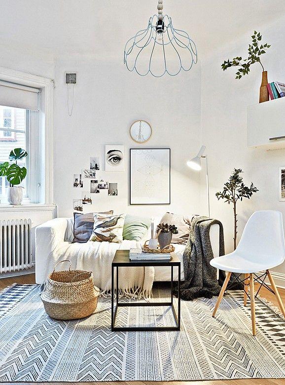 Même dans un espace réduit, il est possible de créer une belle décoration d'intérieure !