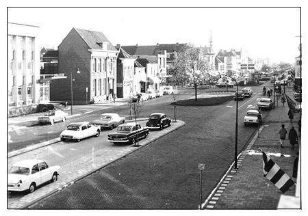 Grote kerkstraat/raadhuisstraat rond 1965