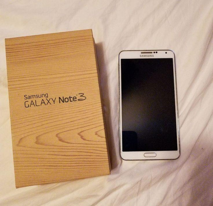 Samsung Galaxy Note 3 White 32GB Original Box Manual Sprint Smartphone | Cell Phones & Accessories, Cell Phones & Smartphones | eBay!