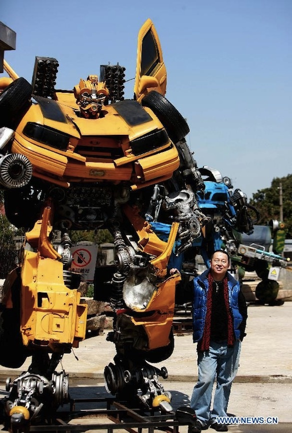 Transformers Theme Park: Transformers Robot, Theme Parks Disney, Amusement Park, Robot Themepark, Transformers Theme, Chinese Artists, Fun Parks Places, Iron