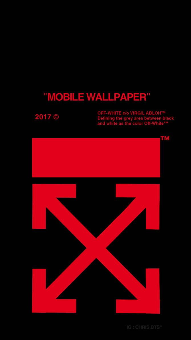 Offwhite Red By Painhatred On Deviantart White Wallpaper For Iphone Wallpaper Off White Iphone Wallpaper Fashion