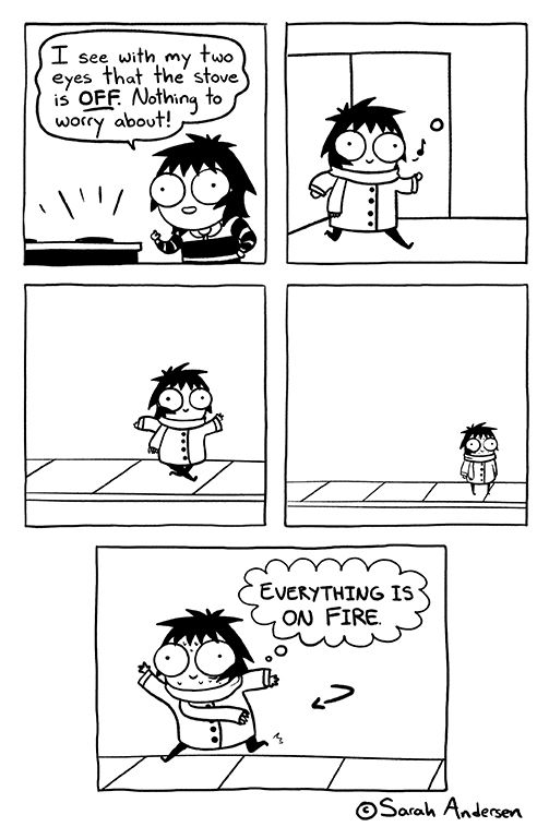 comics, lol, and sarah andersen Bild