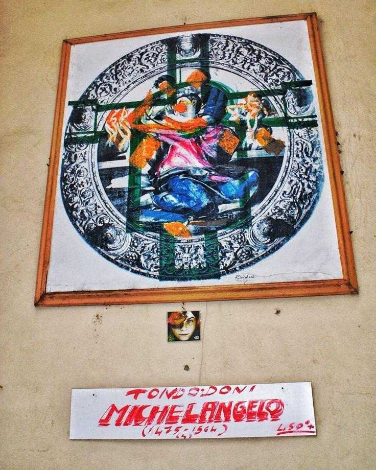 300 Cd around the World! Italy - Firenze - Via Toscanella Cd 130/300   art, art installation, arte, arte da rubare, belle arti, biancone, contemporaryart, foto, fotografia, indie, installation, installationart, installazione