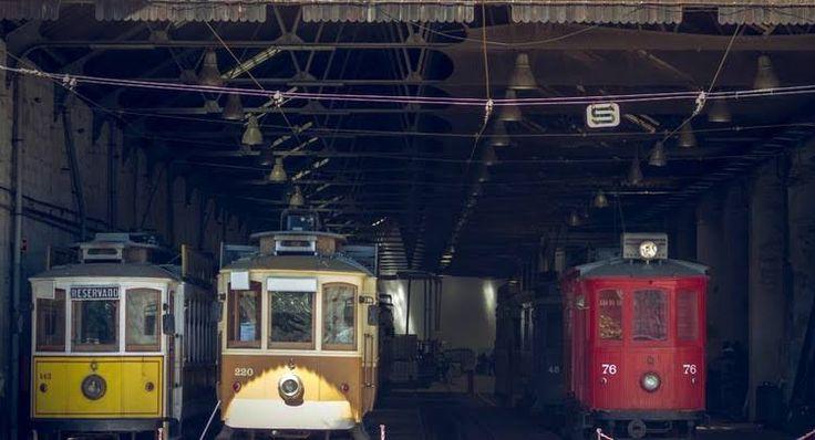 Le musée du tramway, à Porto, au Portugal.