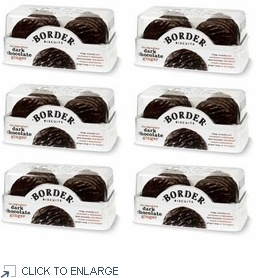 Border Biscuits Dark Chocolate Gingers 175g - 6 PACK - http://www.shoplondons.com/border-biscuits-dark-chocolate-gingers.html