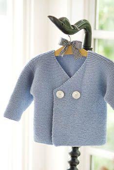 Easy Peasy Baby Jacket Pattern