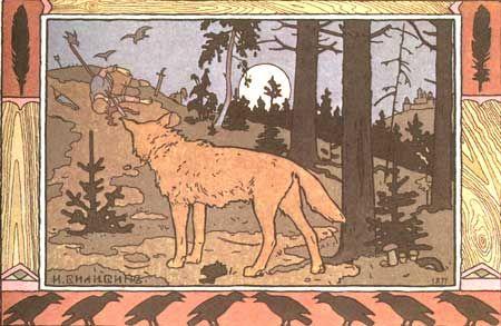ivan bilibin wolf - Google Search