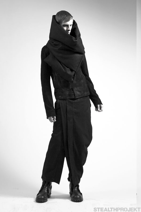 Visions of the Future: Julius FW13 Styles 002 | macabre | dark fashion | goth | obscure | high fashion | editorial