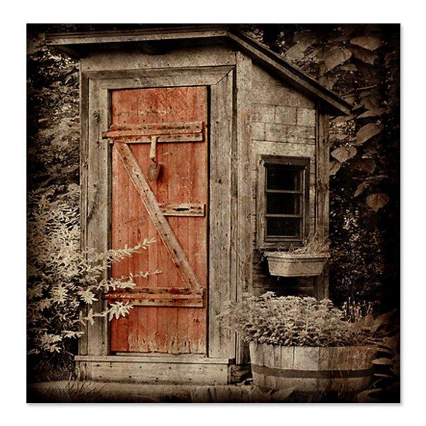 Rustic Country Outhouse Bathroom Decorating Ideas, Pictures And DIY  Inspiration.