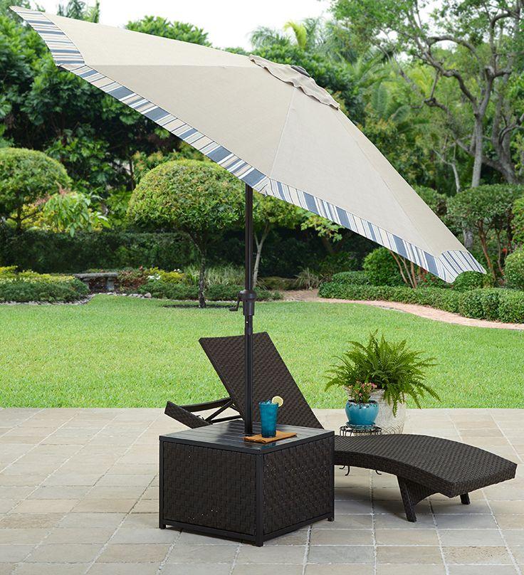 Better Homes and Gardens Avila Beach Umbrella Table. 212 best Outdoor Living images on Pinterest