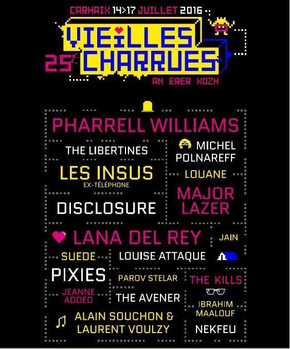 Les Vieilles Charrues, de Carhaix à New York pour la 25e édition - http://www.unidivers.fr/vieilles-charrues-2016-festival-bretagne/ - Musique, Rennes Bretagne