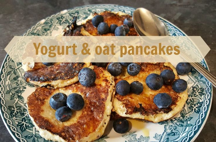 Recipe - Yogurt & oat pancakes (Slimming World friendly) :http://www.nobodysaiditwaseasy.co.uk/2016/02/recipe-yogurt-oat-pancakes.html