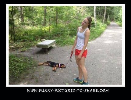 I didn't run that far!