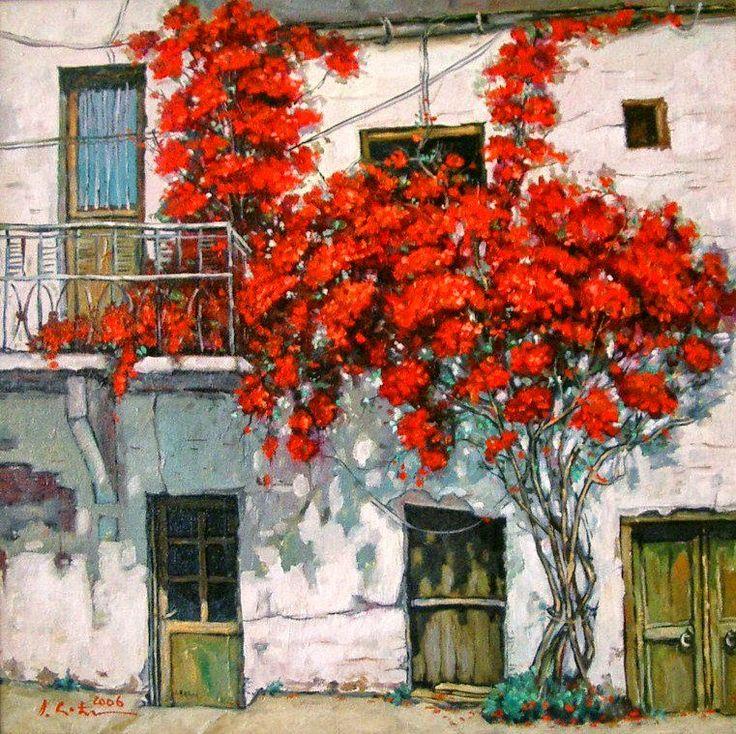 Romanian Artist, Romanian Painter, Landscape, Paintings, Flower Paintings, City Paintings, Urban Street Paintings, Still life, Still life Paintings, David Croitor