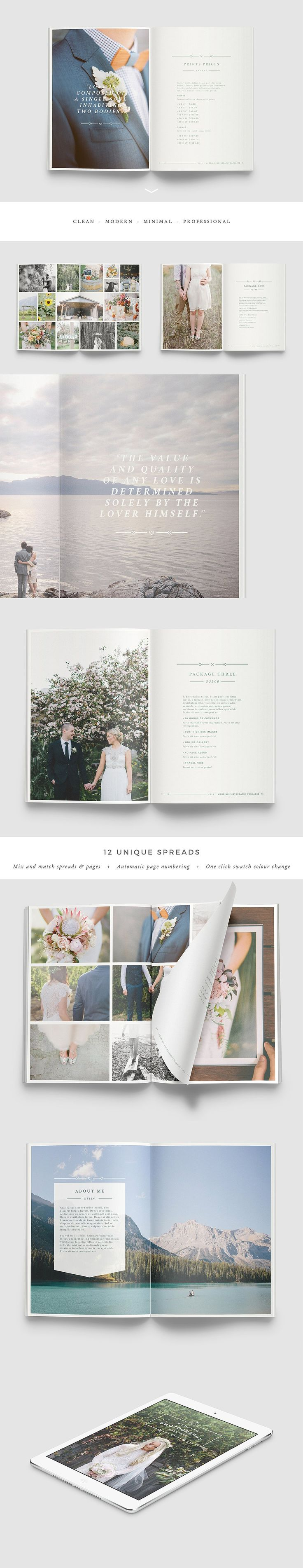 WANDERERS Photography Brochure by Forty6and2 on @creativemarket