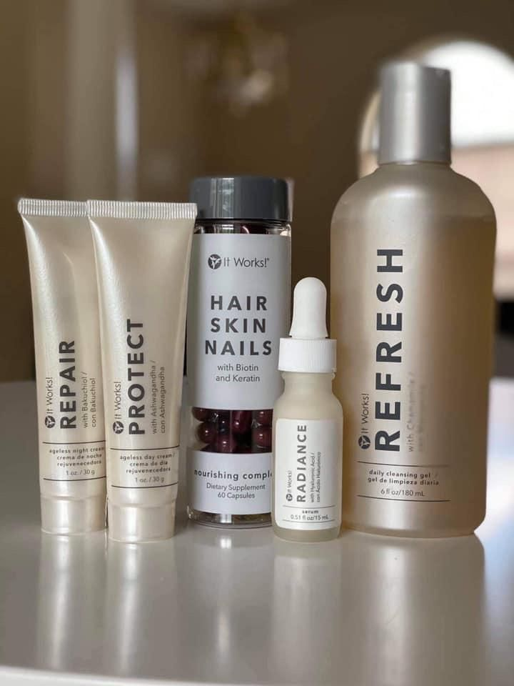 New Skincare Line Take Care Of Your Skin With This Awesome New Line Beautyworks Will Have You Looking And Feeling You Hair Skin Nails Hair Skin Skin Care