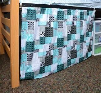 Curtains Under Dorm Bed Wwwelderbranchcom