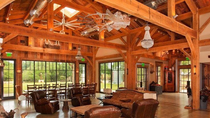 Texas Timber Frames: Timber Frame Homes, Trusses & Kits | Barn ...