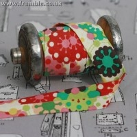 Retro Groovy Splat 25mm Bias from Frumble: Groovy Splat, Retro Groovy, Habdash Stores, Splat 25Mm