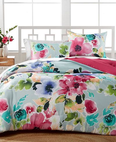 amanda 3pc reversible fullqueen comforter set