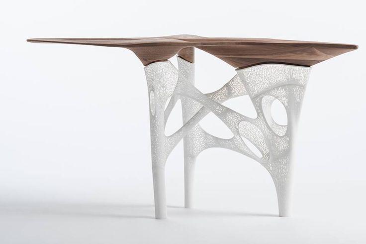 Компания ALEK SA ю-студио разработала и при помощи #3D-печати изготовила #стол для частного клиента в #Челси, #Лондон. #VISAvART