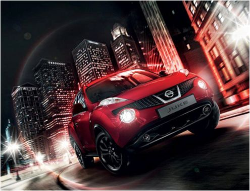 Fuel efficient and attractive the new Nissan Juke.
