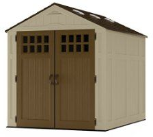 "Suncast Everett Storage Shed, 6 x 8"""