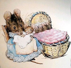 The Tale of Two Bad Mice - This book has been read by 5 generations of women unafraid of mice in my family.
