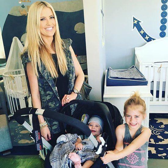 christine and tarek new baby photos | Christina El Moussa's Difficult Birth