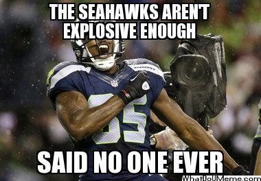 Seahawks Playoff Memes | Seahawks Memes The seahawks aren't explosive