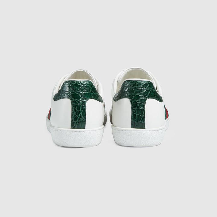 Gucci Ace leather sneaker Detail 4