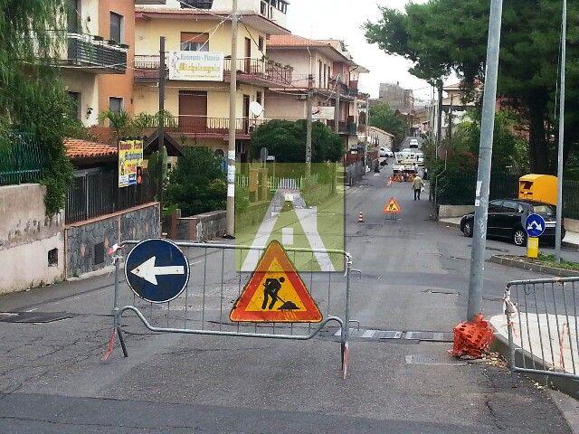 Pulizia e manutenzione di caditoie della città di Mascalucia