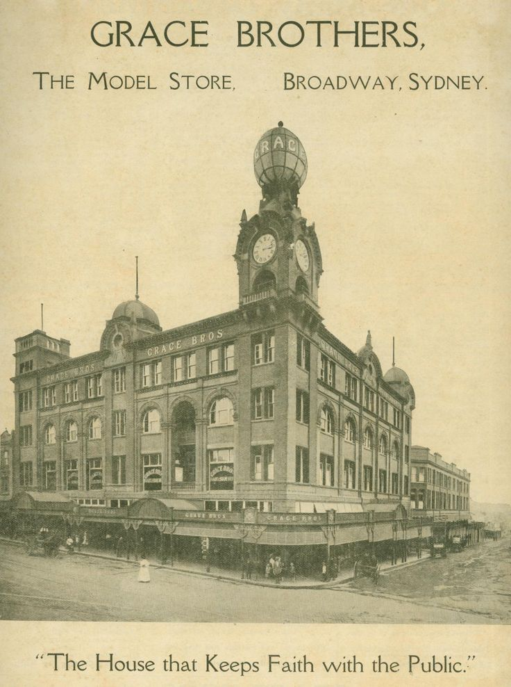 Grace Brothers department store building.