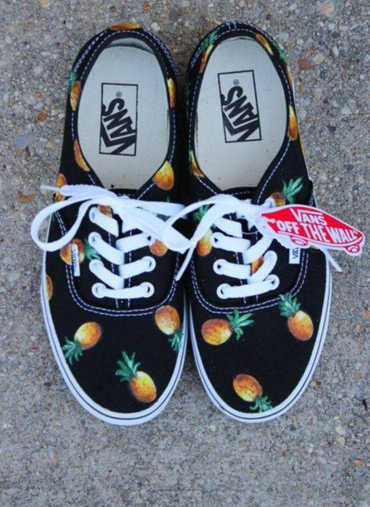 Vans Off The Wall: Pinnaple