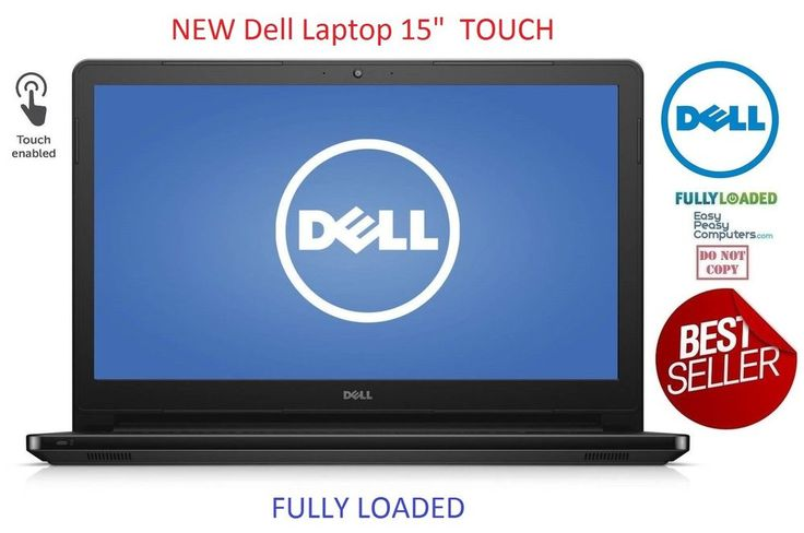"NEW DELL Laptop Computer Touchscreen 15.6"" Windows 10 500GB 4GB (FULLY LOADED) #Dell #laptop #laptops #cheaplaptops #laptopsforsale #laptopdeals #notebook #newlaptop #bestlaptop #hplaptop #delllaptop  #laptopsforcollege"