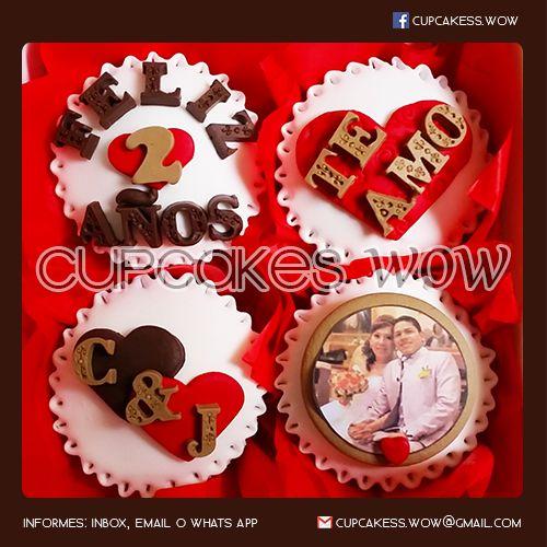 #Cupcakes #Enamorados #CupcakesAniversario #Aniversario #CupcakesDeAmor #LoveCupcakes #CupcakesConMensajes #CupcakesPersonalizados #CupcakesWOW  www.facebook.com/cupcakess.wow