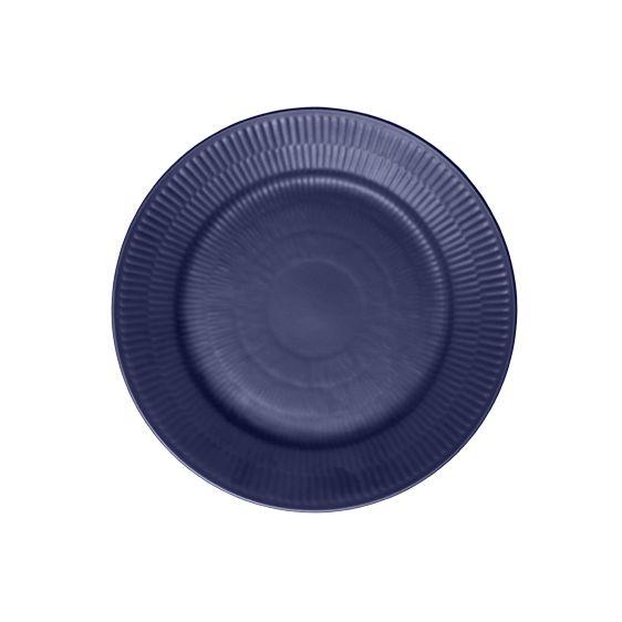 Royal Copenhagen Blue Fluted Lunch Plate 22 cm