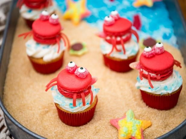 Get Crab Cupcakes Recipe from Food Network