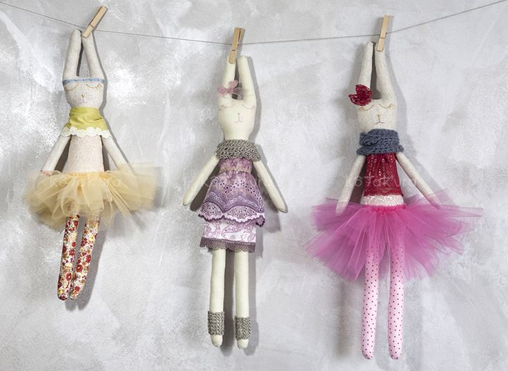 Handmade Bunny Dolls