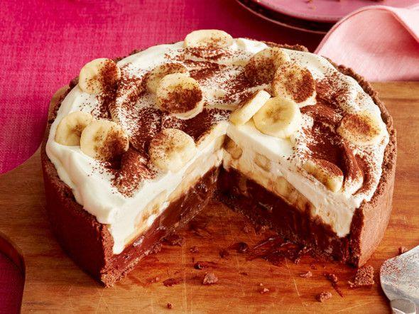 Bananen-Karamell-Schoko-Kuchen  Rezept