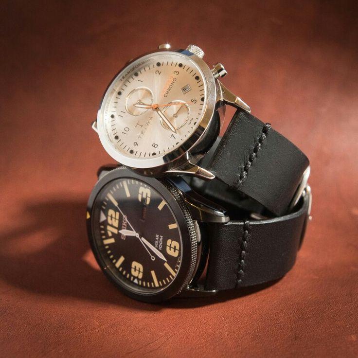 New kangaroo leather watch straps. Handmade.