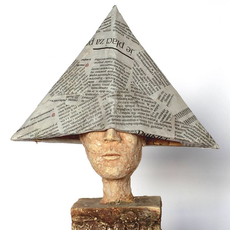 The Old News, ceramic, ceramic sculpture, art fine ceramic by arekszwed on Etsy