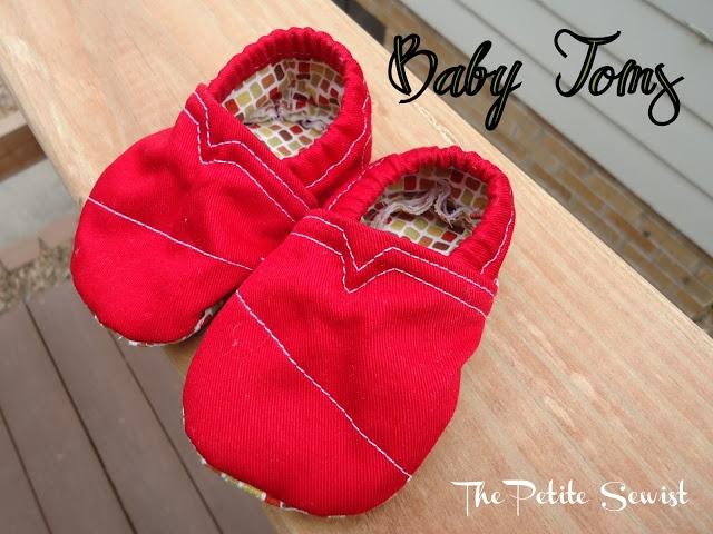 The Petite Sewist: Baby Toms via Pinterest