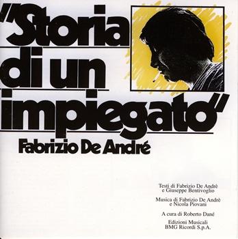 Fabrizio de Andrè, Storia di un Impiegato