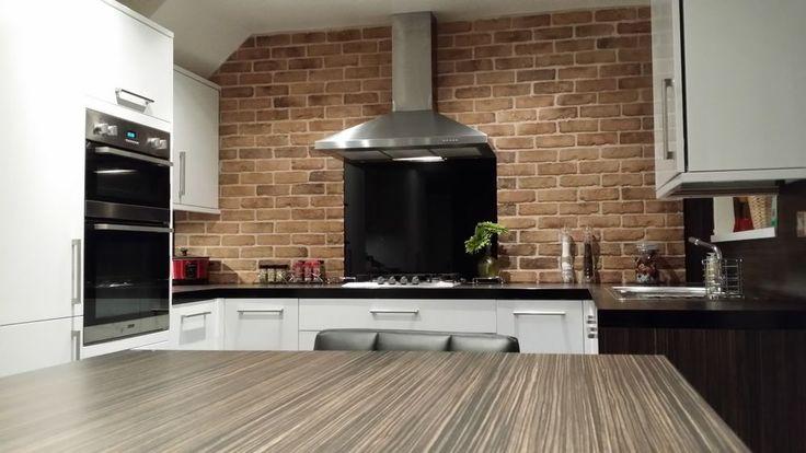 Brick Slips Brick Tiles Brown Beige In Home Furniture