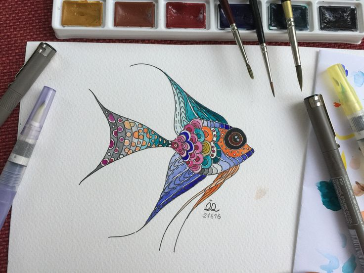 Beauty without grace is like a fish far displaced from the water   #fish #melekbaliği #zentangleart #zentangle #picoftheday #drawing #watercolor #wip #suluboya #myart #illustration #myillustration #sketch #illustrationoftheday #sketchoftheday #sketchbook #sketching #illustrationart #art #artoftheday #artist #artsy #sanat #artofvisuals #çizim #gallery #instaart #instaartist #artstagram #trendsSoul