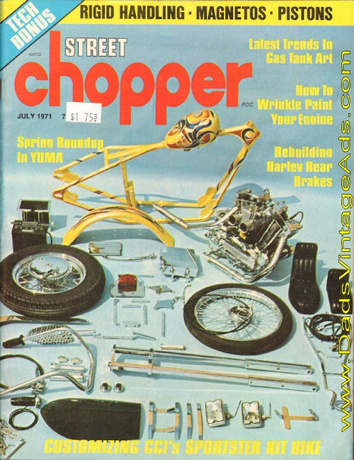 1971 Street Chopper – CCI's Mail-Order Chopper kit